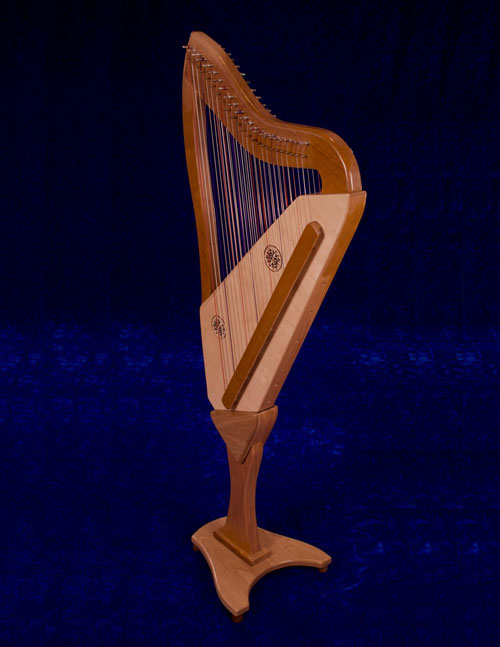 The Double-Strung Harp back