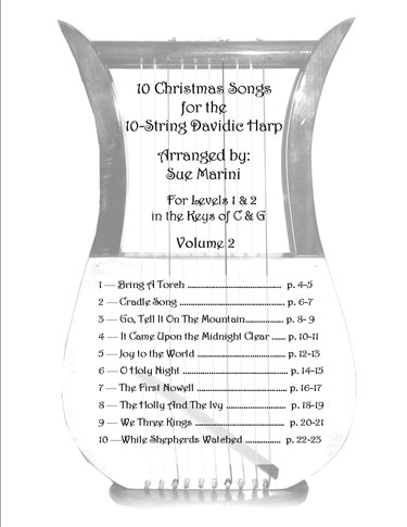 Christmas Songs Vol 2 Table of Contents