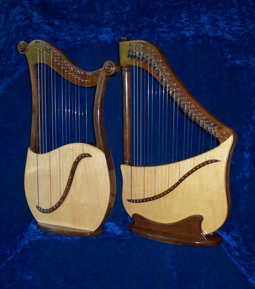 Lyre & Lute Harps