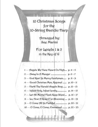 Christmas Songs Vol 1 Table of Contents